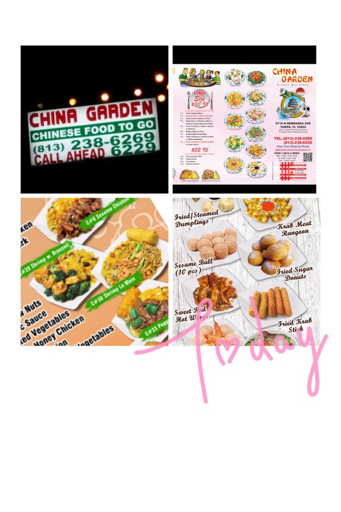 China Gardens: 5715 N Nebraska Ave, Tampa, FL
