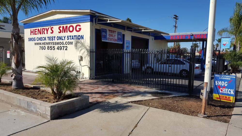 Henry's Smog: 555 S Escondido Blvd, Escondido, CA