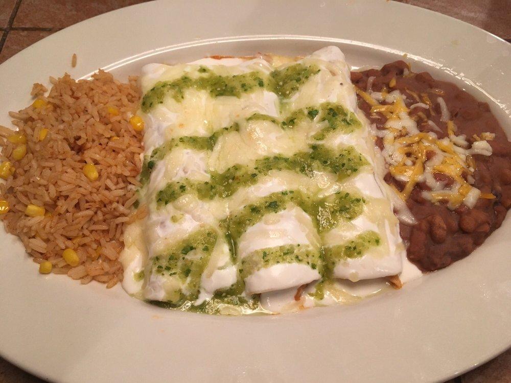 Enchiladas Suizas On The Border