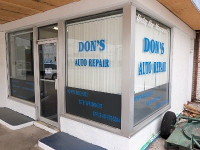 Don's Auto Repair: 3310 S Washington Ave, Aurora, MO
