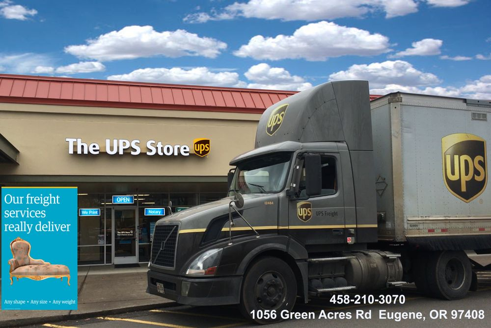 The UPS Store: 1056 Green Acres Rd, Eugene, OR
