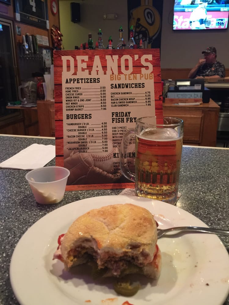 Deano's Bar & Grill: 114 S Broadway St, Stanley, WI