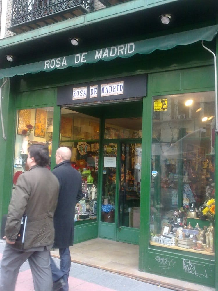 Rosa de madrid decoraci n del hogar paseo de las for Decoracion hogar madrid