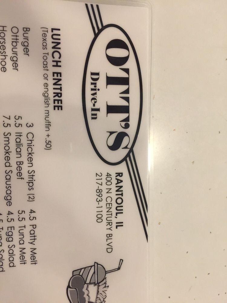 Ott's Drive In: 400 N Century Blvd, Rantoul, IL