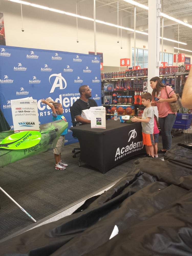 At Academy Sports + Outdoors, we make it easier for everyone to enjoy more sports and outdoors. At each of our + locations, we carry a wide range of quality hunting, fishing and camping equipment, patio sets and barbecue grills, along with sports and recreation products, at everyday low prices.