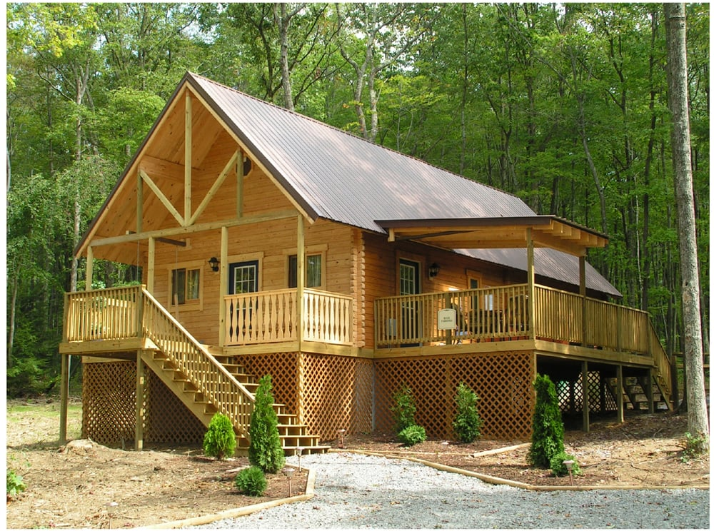 Hemlock Haven Luxury Cabins: 924 Mallard Rd, Hico, WV