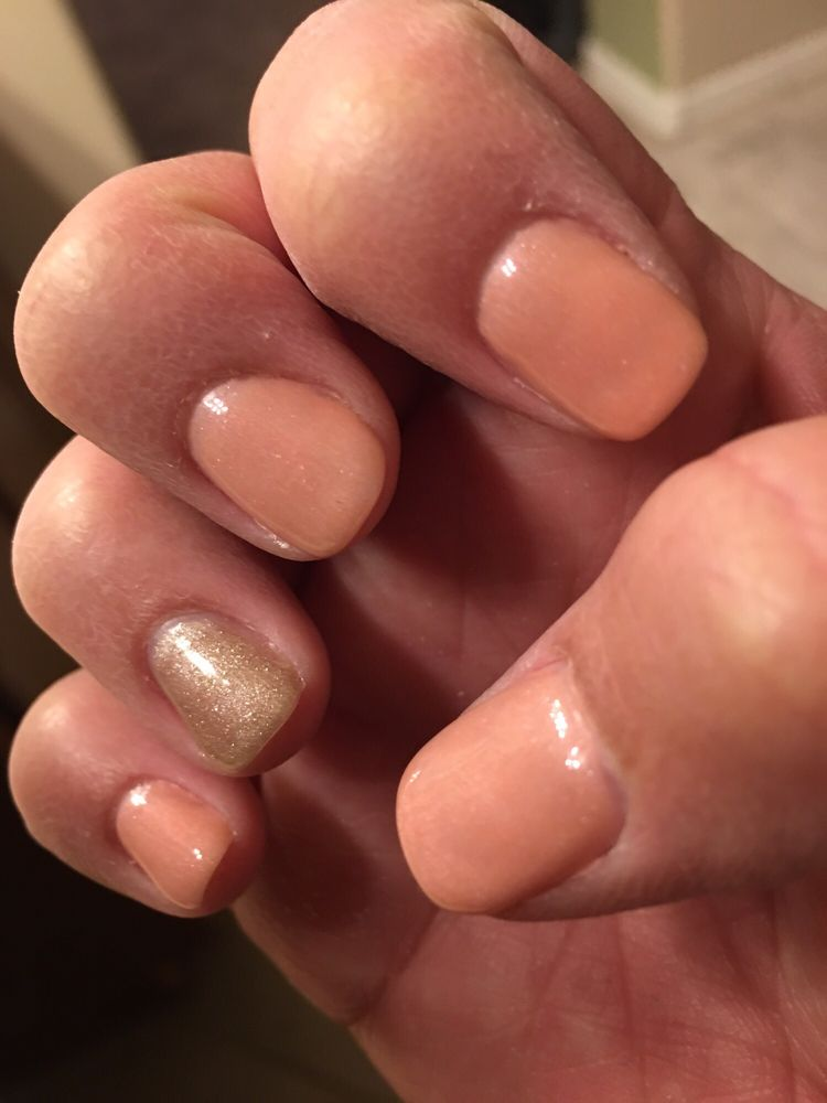 Gel manicure by Jenny....she did a great job! - Yelp