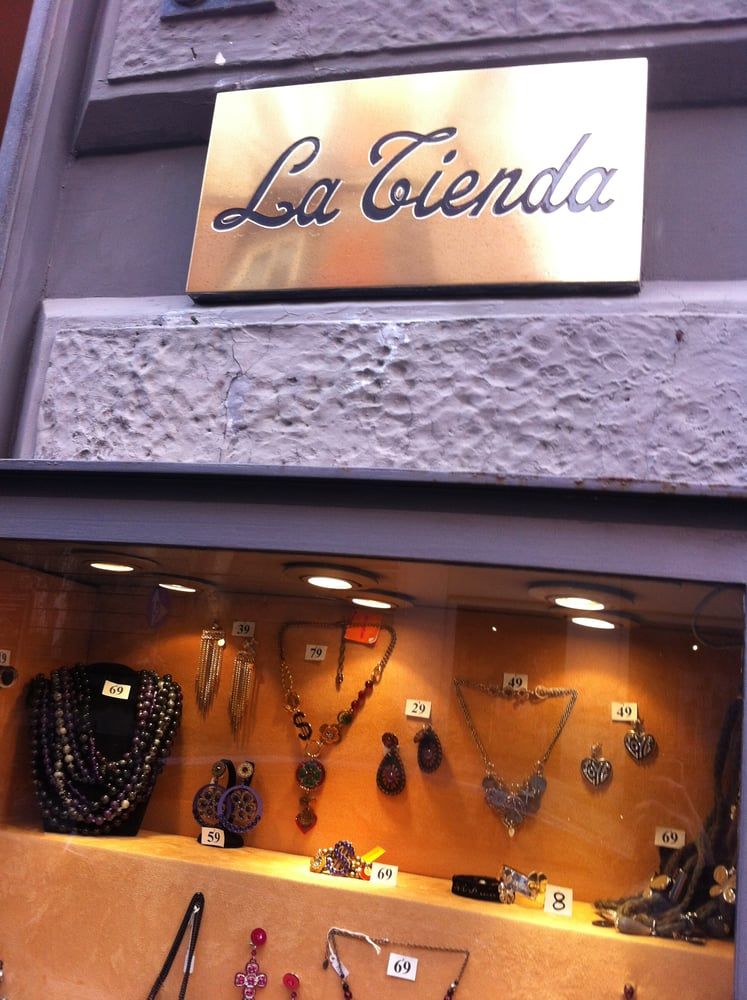 La Tienda - Jewellery - Via dei Mille 63 94ad57c8e8b88