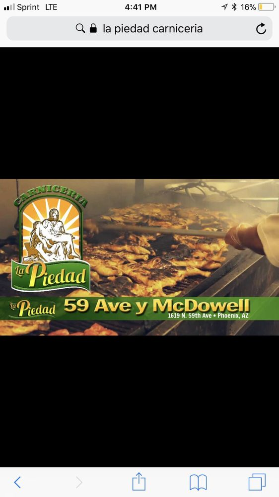Carniceria La Piedad: 1619 N 59th Ave, Phoenix, AZ