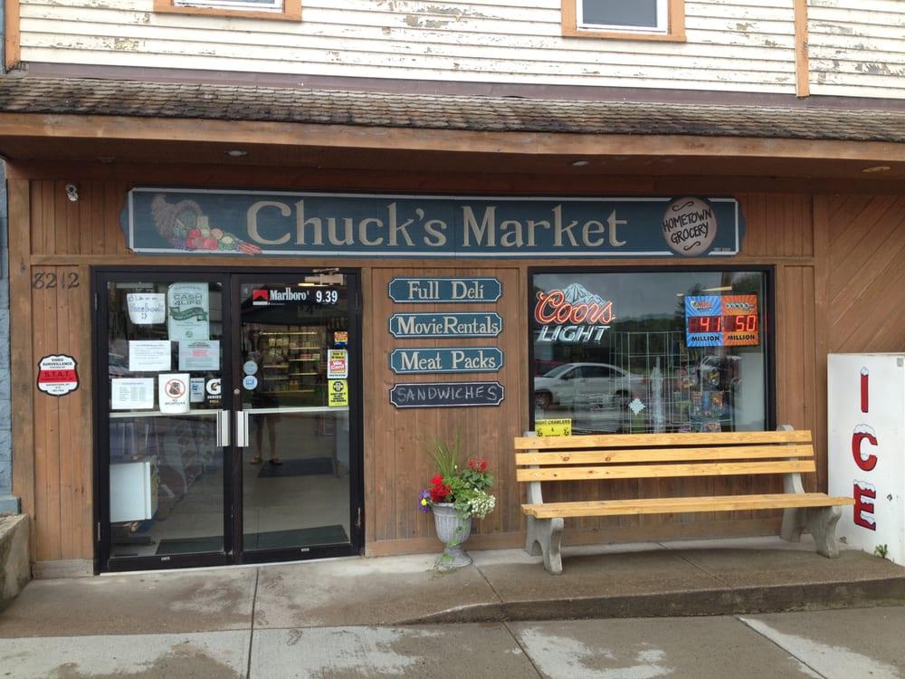 Chuck's Market: 8212 Main St, Harrisville, NY