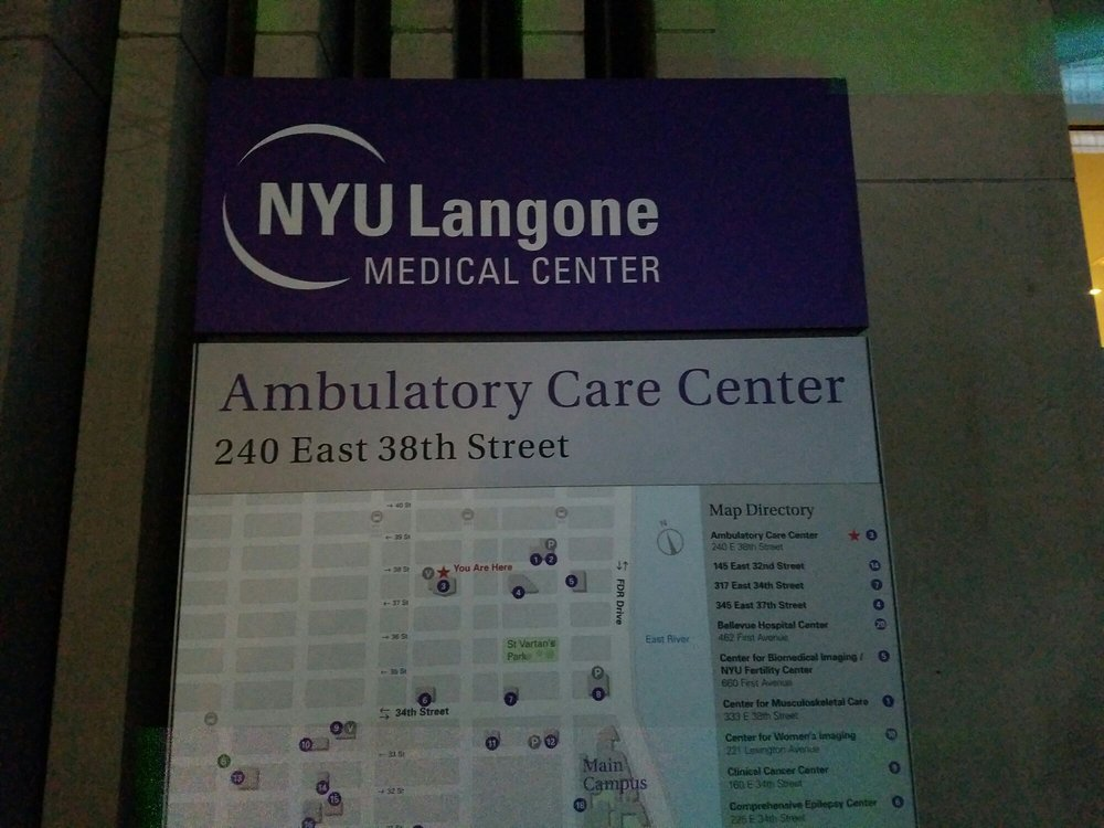 Nyc Subway Map 333 East 38th Street.Nyu Ambulatory Care Center Medical Centers 240 E 38th St Murray