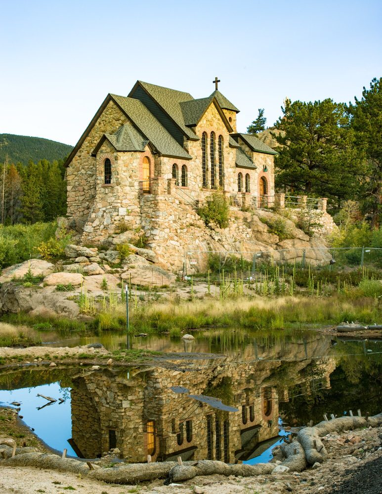 Saint Catherine of Siena Chapel: Camp St Malo, Allenspark, CO
