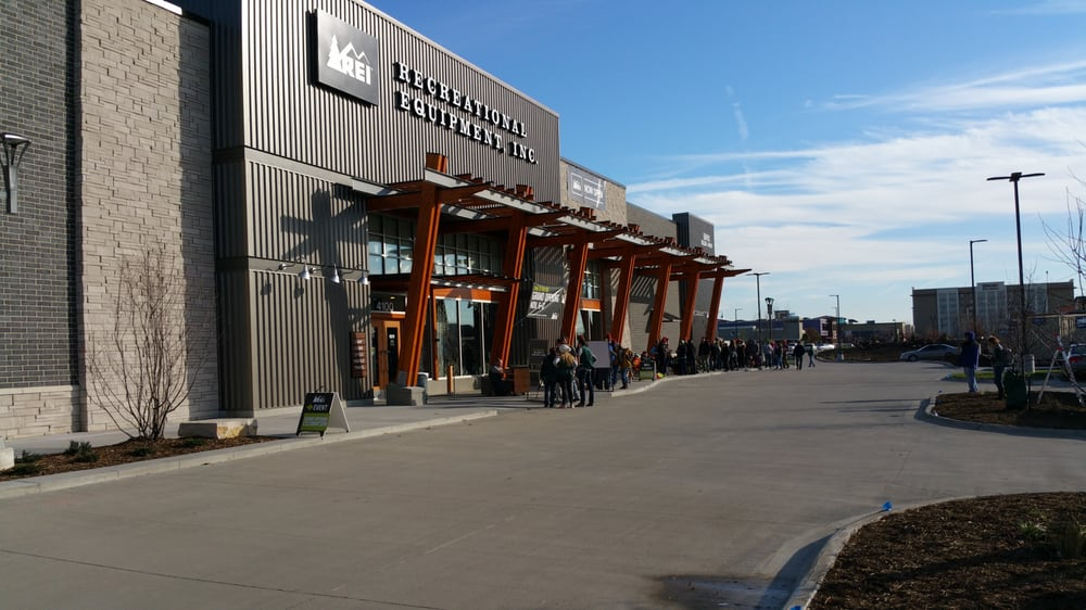 REI: 5901 Mills Civic Pkwy, West Des Moines, IA