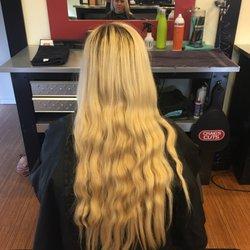 Photo of Craigs Cuts - Orem, UT, United States. Before-blonde.