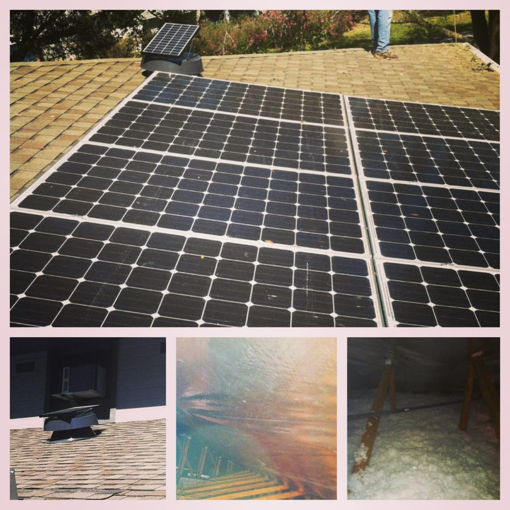 Solar Pv Solar Attic Fans Radiant Barrier And Blown