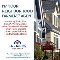 Farmers Homeowners Insurance >> Farmers Insurance Asdrubal Hernandez Insurance 3611 S Harbor