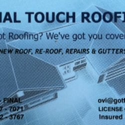 Photo Of Final Touch Roofing Valley Village Ca United States Our Business