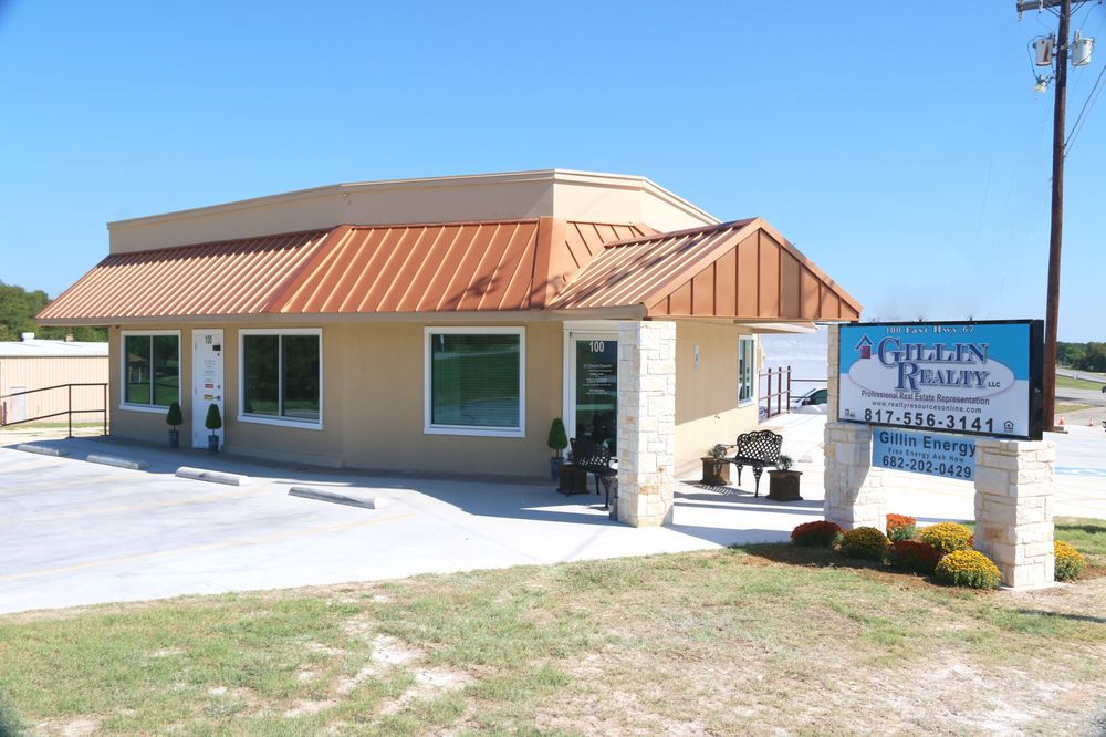 Gillin Realty LLC: 218 W 4th St, Keene, TX