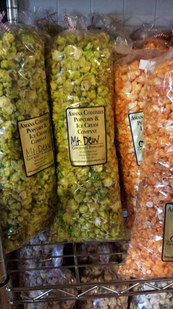 Amana Colonies Popcorn and Ice Cream Company: 4516 220th Trl, Amana, IA