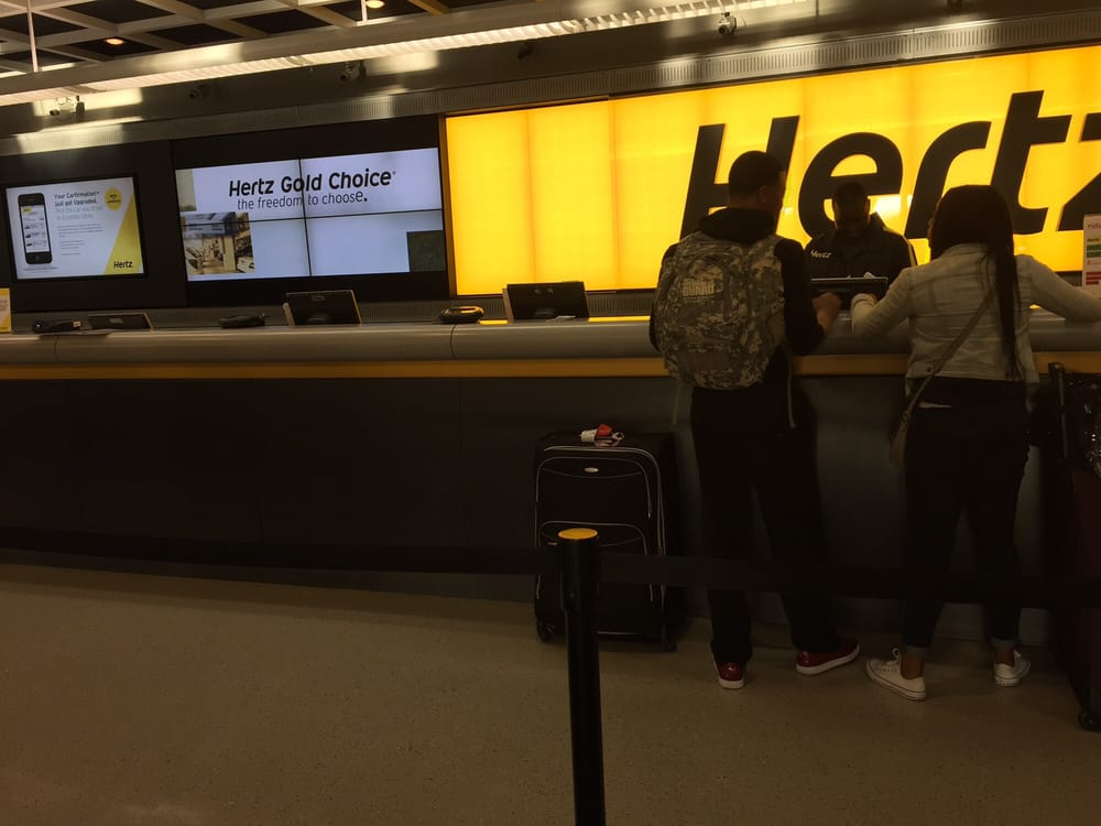 Hertz Rent A Car At Dfw Airport