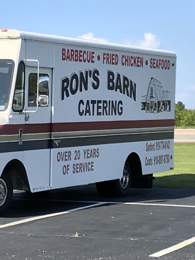 Ron's Barn Barbecue & Seafood: 91 Pig Out Lane Nc 55 W, Coats, NC