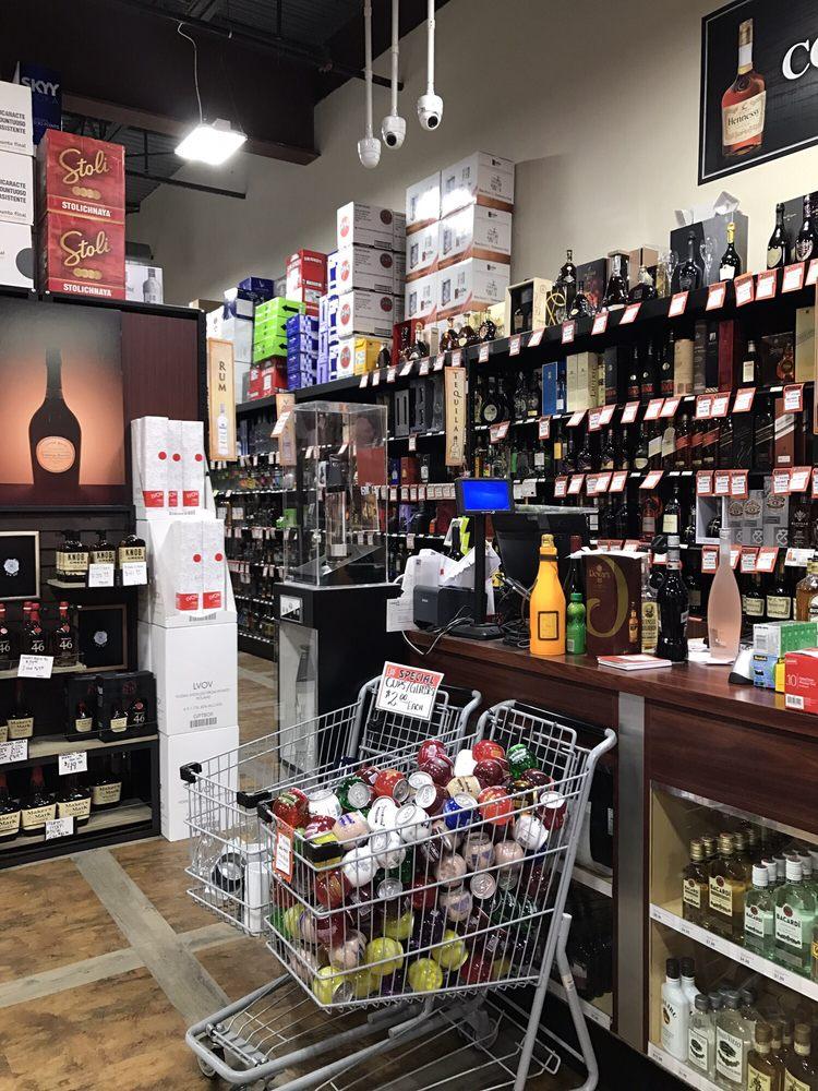 Liquor & Wine Warehouse: 4593 Austin Blvd, Island Park, NY
