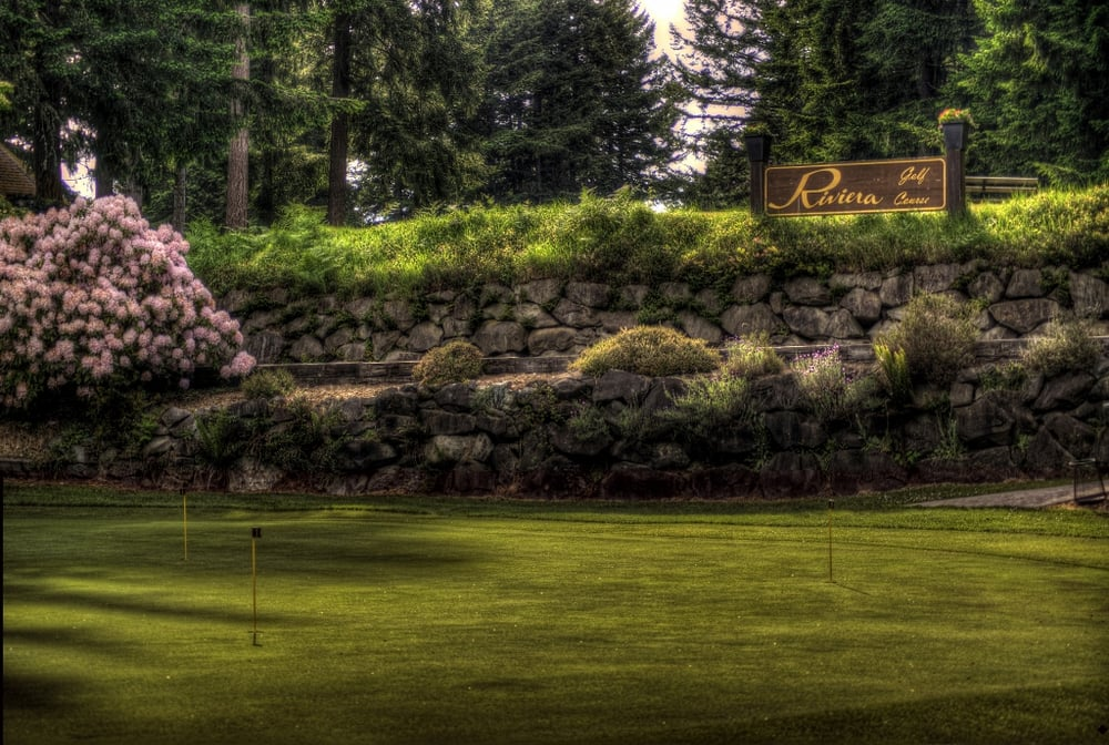 Riviera Golf Course: 11016 Country Club Dr, Anderson Island, WA