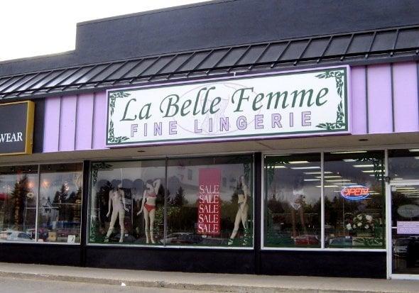 38588e21c La Belle Femme Fine Lingerie - CLOSED - Lingerie - 5724 111 St ...