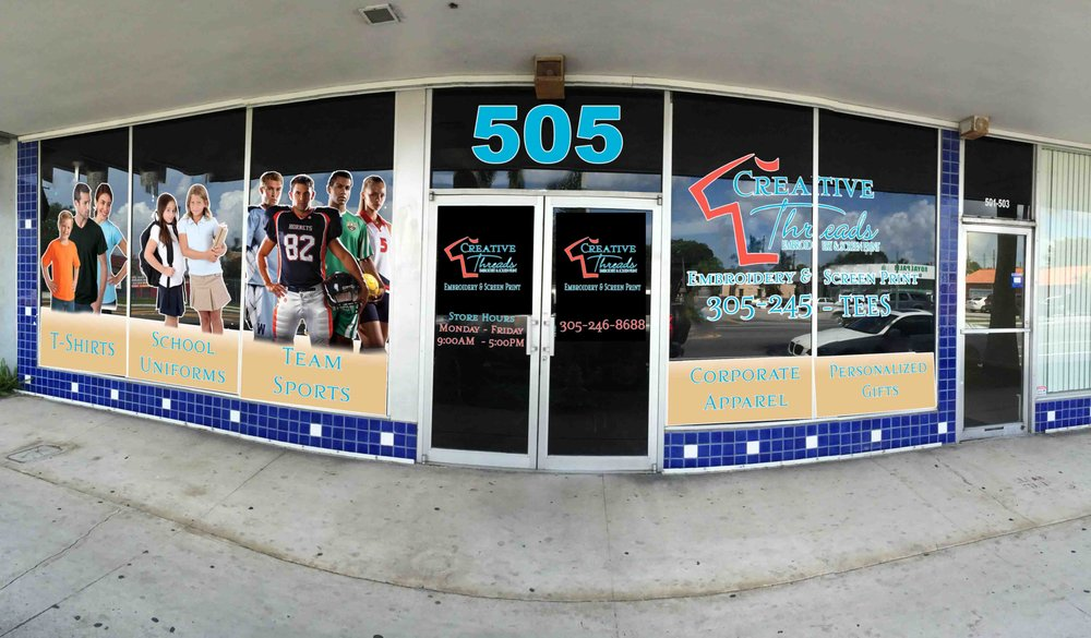 Creative Threads: 505 N Krome Ave, Homestead, FL
