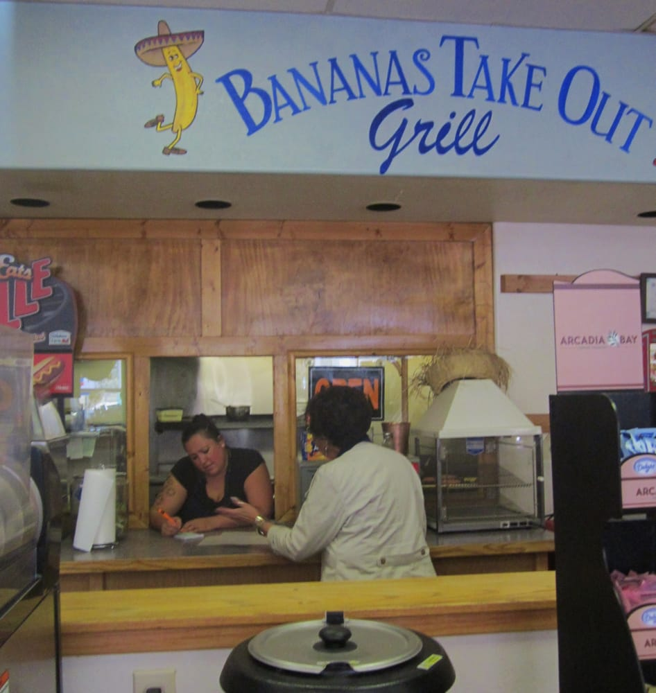 Bananas Take Out Grill: 59 Hwy 38, Questa, NM