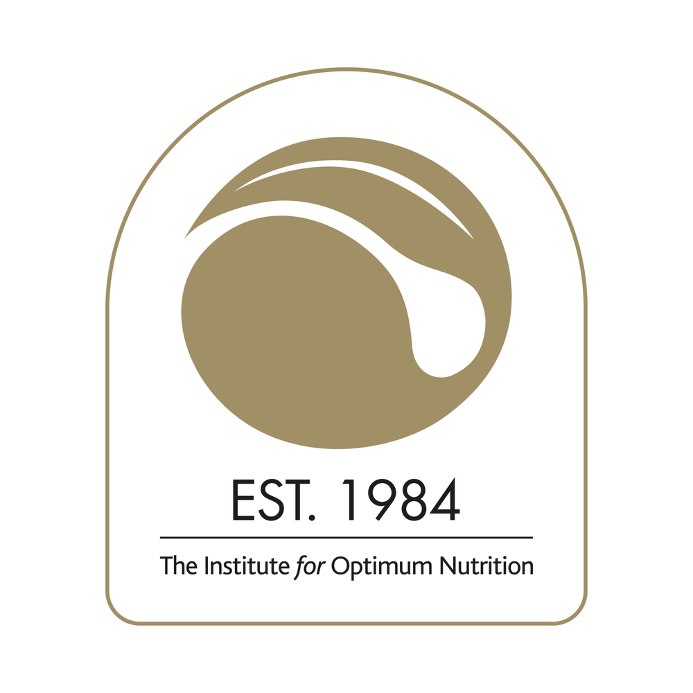 The Institute for Optimum Nutrition   Ambassador House, Paradise Road, Richmond TW9 1SQ   +44 20 8614 7800