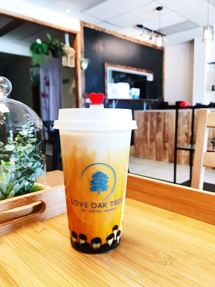 Love Oak Tree Bubble Tea