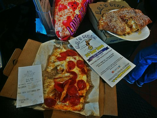 B C 's Pizza - 1226 Fort St, Downriver, Lincoln Park, MI