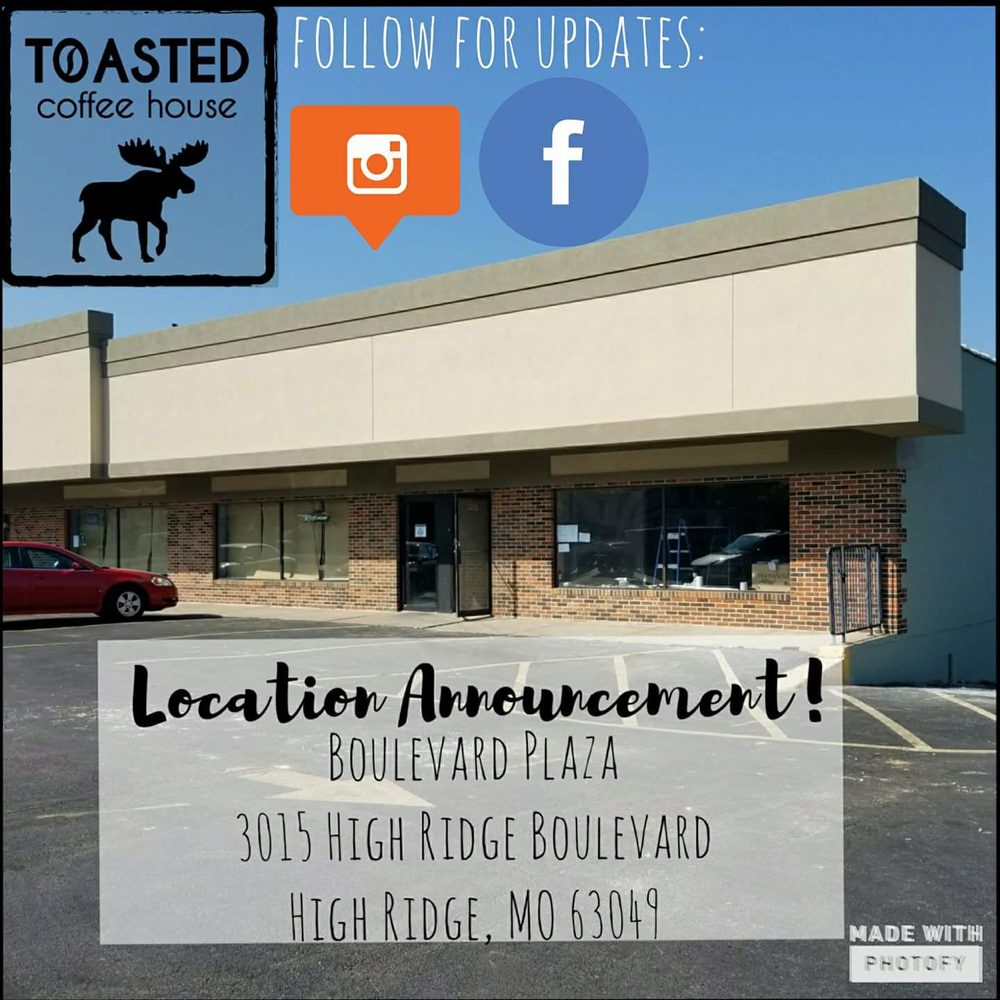 Toasted Coffee House: 3015 High Ridge Blvd, High Ridge, MO
