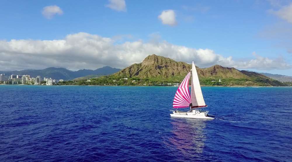 Hawaii Catamaran Sailing