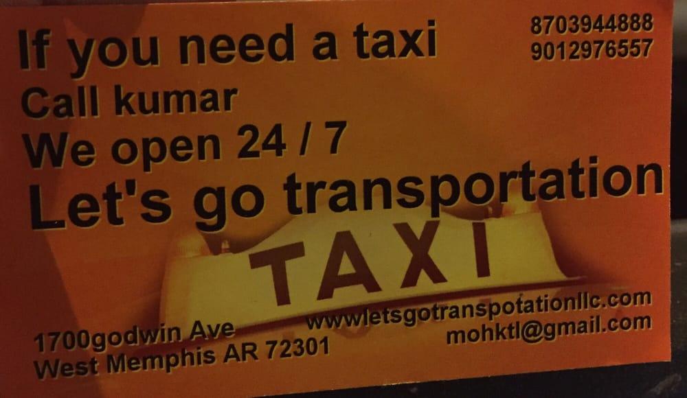 Lets Go Transportation: 1700 Goodwin Ave, West Memphis, AR