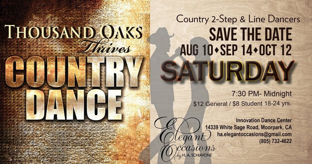 Thousand Oaks Thrives Country Dance: 14339 White Sage Rd, Moorpark, CA