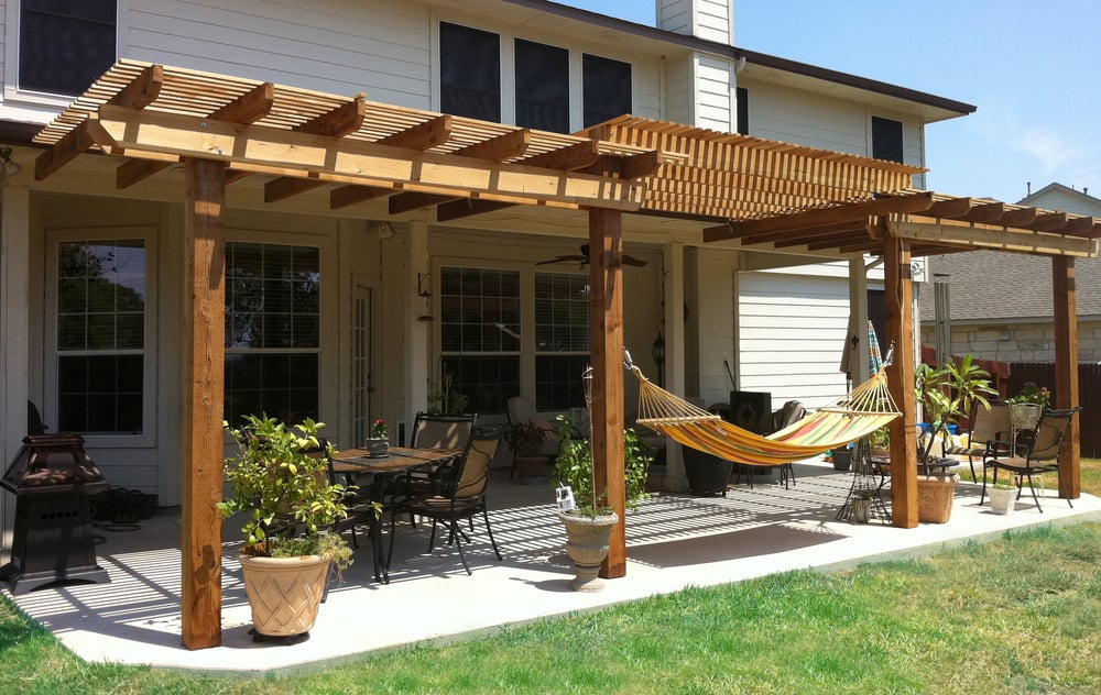 We Do Covered Patios As Well As Pergolas Awnings Arbors