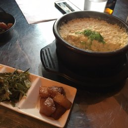 Photo Of Don Day Korean Calgary Ab Canada Steamed Egg And Banchan
