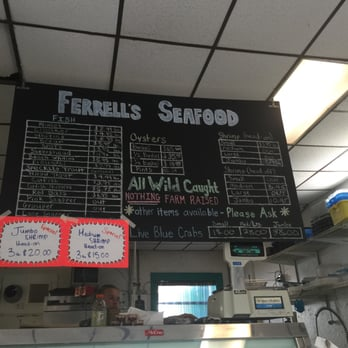 Ferrells seafood closed seafood markets 7664 n main for Fish market jacksonville fl