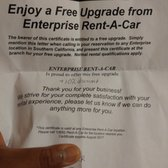 Apr 11,  · Enterprise has free double upgrade, single upgrade and 50% off weekend special coupons. Get Enterprise Rent-a-Car coupons Coupons Deal Coupon is no longer valid 83, Views 3 Comments. Thread Details. 0 Deal Score. 83, Views 3 Comments. Enterprise has free double upgrade, single upgrade and 50% off weekend special coupons.