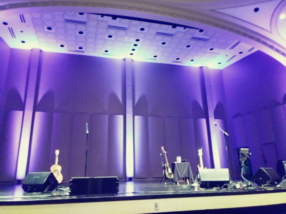 Helen Bader Concert Hall in the Zelazo Center