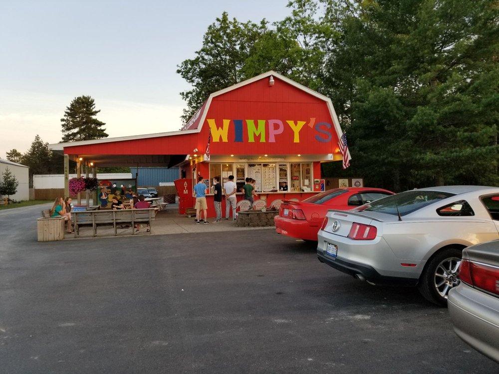 Wimpy's: 6415 W M 72 Hwy, Grayling, MI