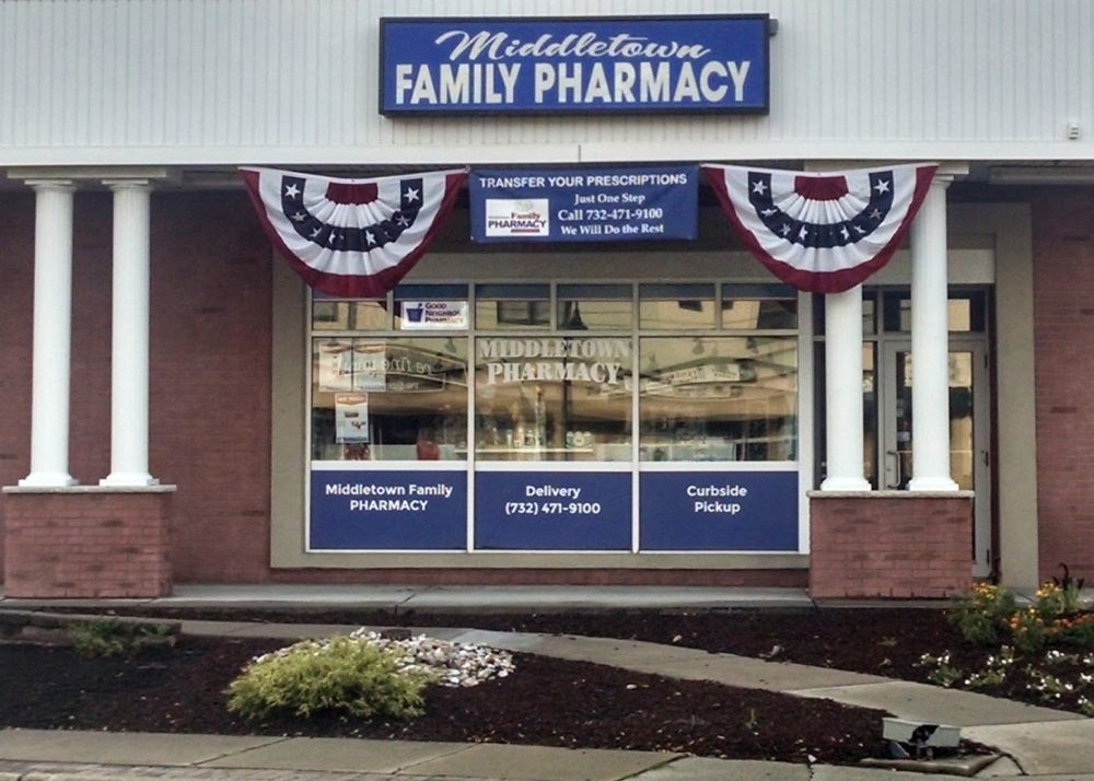 Middletown Family Pharmacy: 877 Main St, Belford, NJ