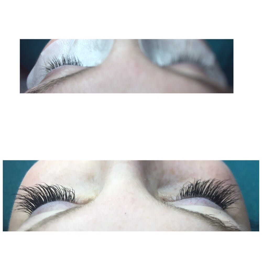 Before And After Eyelash Extensions By Kimi Scottsdale Lashes Yelp