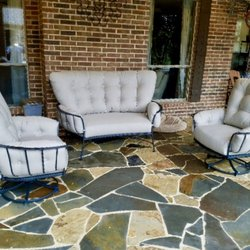 Good Photo Of Yard Art Patio U0026 Fireplace   Allen, TX, United States. Loveseat