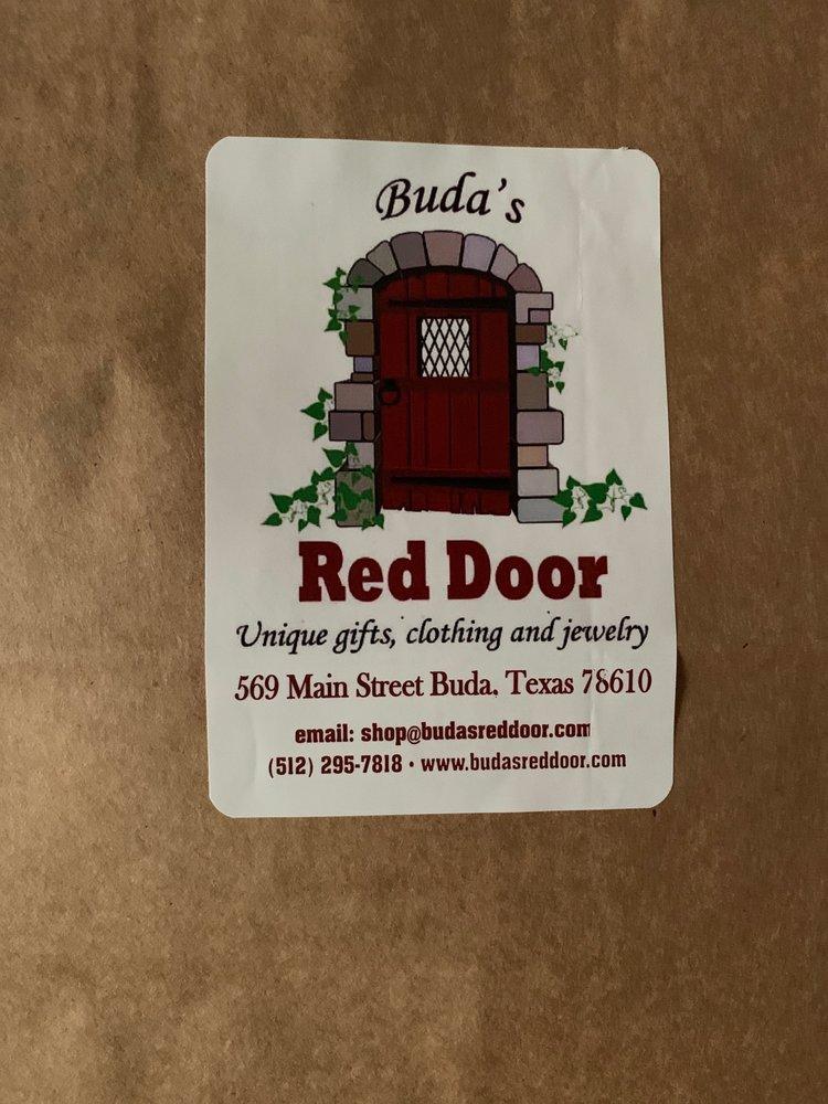 Buda's Red Door