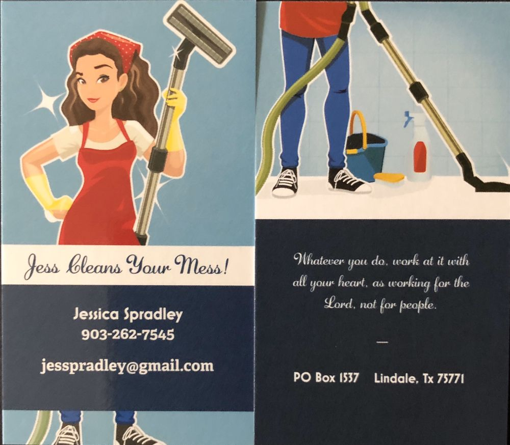 Jess Cleans Your Mess: Lindale, TX