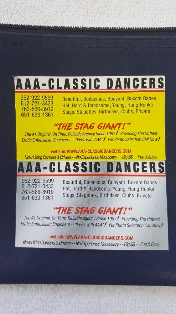The yellow grey business cards are authentic legitimate the photo of aaa classic dancers st louis park mn united states colourmoves