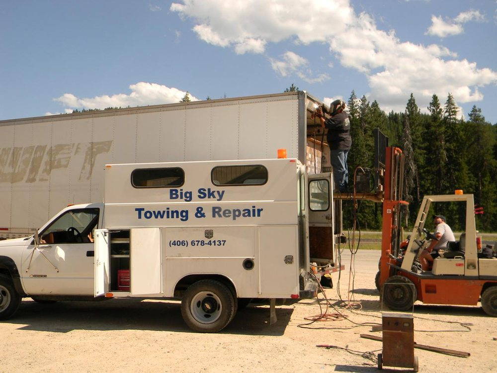 West End Towing & Repair: Haugan, MT